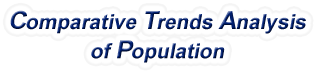 New Jersey - Comparative Trends Analysis of Population, 1969-2017