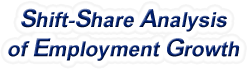 Shift-Share Analysis of New Jersey Employment Growth and Shift Share Analysis Tools for New Jersey